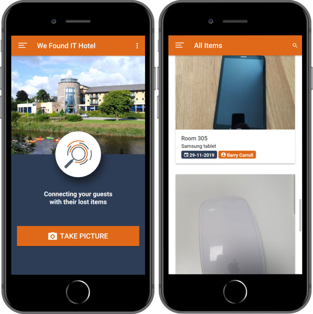 Lost Property App & Web App